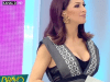 Hilarious moment TV presenter lifts up her dress and flashes audience because she thought a spider was in her pants