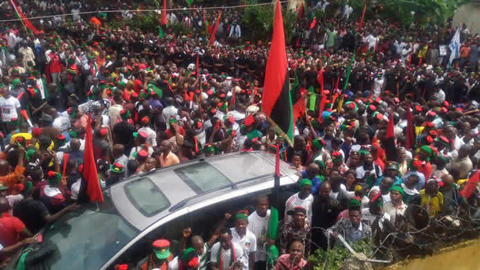 Biafra is close