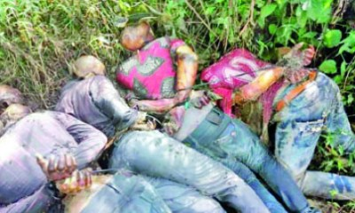 Corpses of IPOB members found inside bush