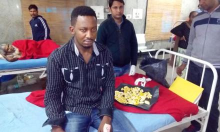 26-year-old Nigerian national arrested in India for smuggling 260-gram heroin six months after release from jail