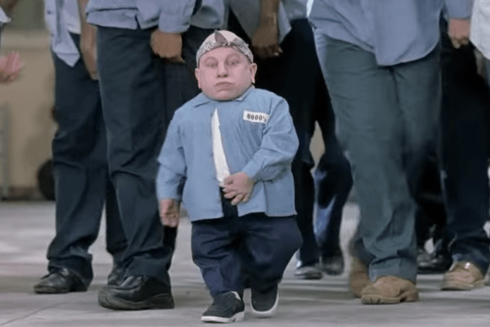 Mini-me actor Verne Troyer