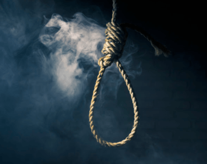 son of a policeman hangs himself in Gombe state