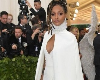 Jourdan Dunn flashes her private part as she suffered wardrobe malfunction at Met Gala