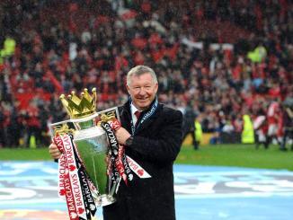Sir Alex Ferguson 'awake and talking' in hospital