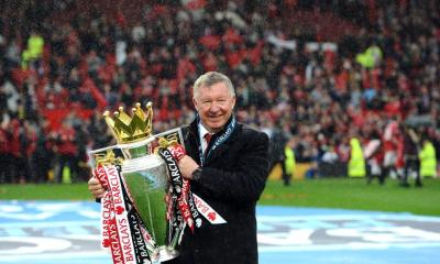 Sir Alex Ferguson 'awake and talking' in hospital