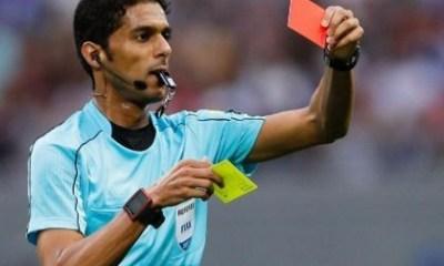 FIFA referee Fahad al Mirdasi