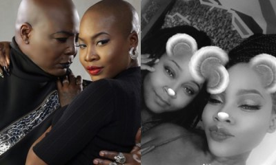 Charly Boy's daughter, Dewy Oputa shows off lesbian partner (Video)