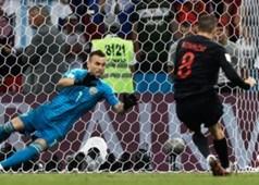 Croatia defeat Russia in nail-biting shootout,.