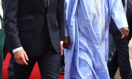 French president Emmanuel Macron arrives Nigeria on 2-day working visit