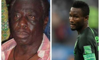 Mikel hasn't called me in 5 yrs, but kidnappers think he sends millions to me – Dad