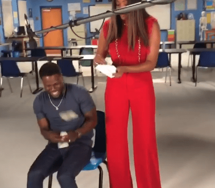 Tiffany Haddish publicly returns money Kevin Hart loaned her years ago when she was homeless, and he responds (video)
