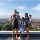 Cristiano Ronaldo shares adorable family photo with all his children and partner in Juventus jerseys