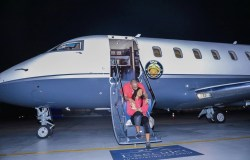 Finally, Davido admits the new 'Private Jet' belongs to his dad, tells haters to suck his d**k (Screenshot)