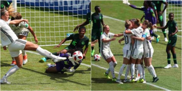 France 2018: Super Falconets of Nigeria lose 1-0 to Germany