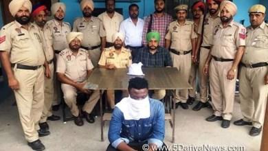 Nigerian drug smuggler arrested in India with heroin