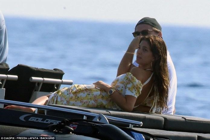 Leonardo DiCaprio, 43 and his 21-year-old girlfriend Camila Morrone lock lips in deep passionate kiss