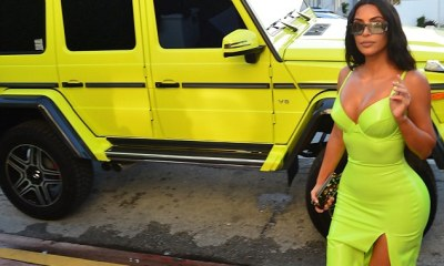 Kanye West surprises Kim Kardashian with a $240k Mercedes neon 'truck of my dreams' to match Kylie Jenner's