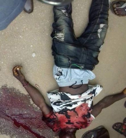 12 people killed as armed robbers raid two banks In Edo State (Graphic photos)