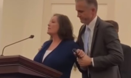 Colorado woman calls out her alleged rapist live during church service (video)