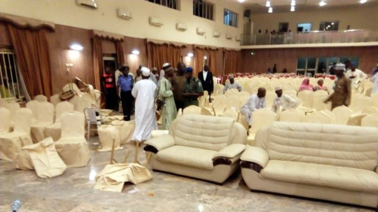 Serving Senator reportedly slaps Commissioner at Gombe PDP primaries