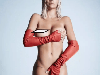 Rita Ora goes completely naked to promote her new song (Photo)