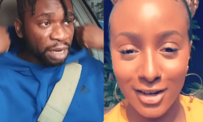 DJ Cuppy hits back at Speed Darlington after he told her to close her legs and give him money (video)