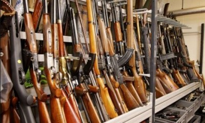 Armed robbers break into police armoury to steal AK-47s riffles