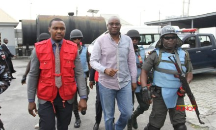 Fayose arrives court amidst heavy security