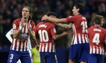 LaLiga: Atletico Madrid go top of Spanish League table