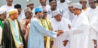 Ganduje, Buhari meet in Aso Rock amid bribery scandal