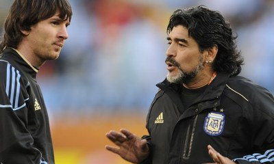Messi's family brand Diego Maradona 'ignorant' for discrediting the Barcelona star