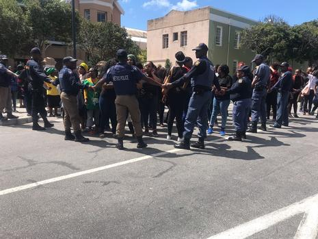 Omotoso Trial: Angry protesters harass 'rubbish' defence lawyer Daubermann