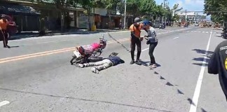 Man fakes his own death in bizarre motorbike accident to propose to girlfriend (Video)