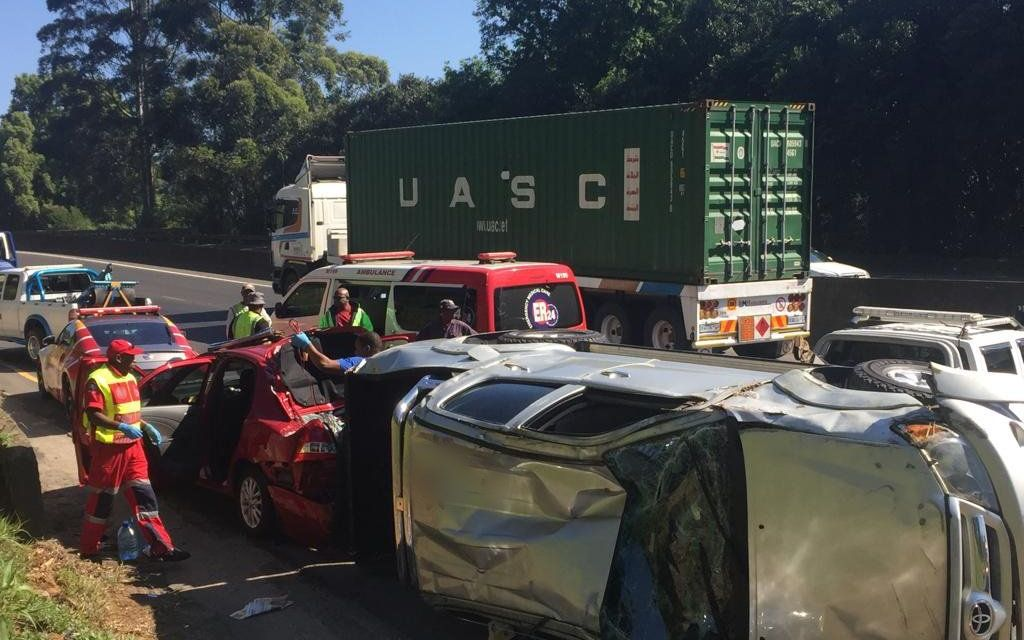 Pietermaritzburg man dies after car lands on top of him and his wife