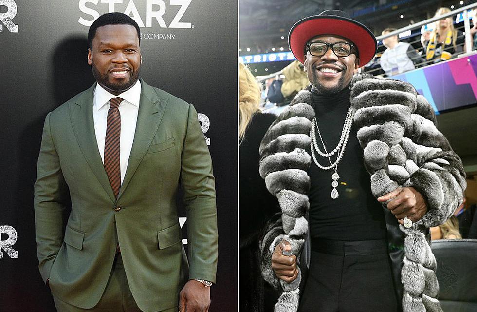 50 Cent trolls Floyd Mayweather over next scheduled fight with Tenshin Nasukawa