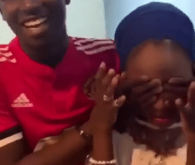 19 year old student surprises his 16-year-old girlfriend with a Benz, iWatch and Iphone X Max in Abuja (Watch Video)