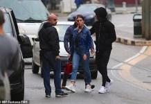 Cristiano Ronaldo and fiancée Georgina Rodriguez visit Italian church as they search for a wedding venue (Photos)