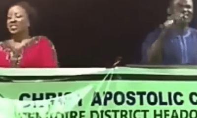 video of a church crusade where the choir sang Shaku Shaku