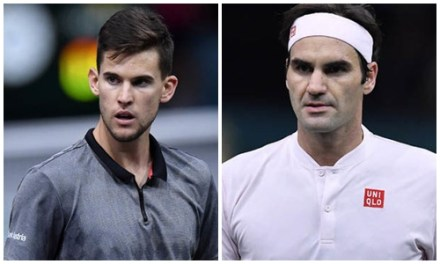 Roger Federer scares me, says Dominic Thiem ahead of ATP Finals clash