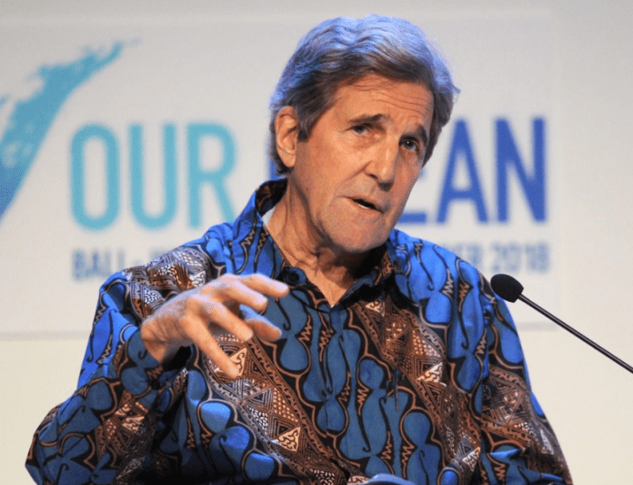 Former U.S secretary of state John Kerry says he's considering running for president in 2020