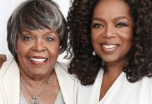 Oprah Winfrey's mum dies at 83