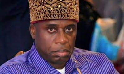 Nigerians attack Rotimi Amaechi in Spain