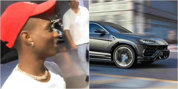 Wizkid reportedly buys Lamboghini Urus – Worth N80million