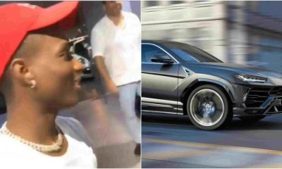 Wizkid reportedly buys Lamboghini Urus – Worth N80million