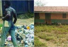 Mad man in Ekiti schools