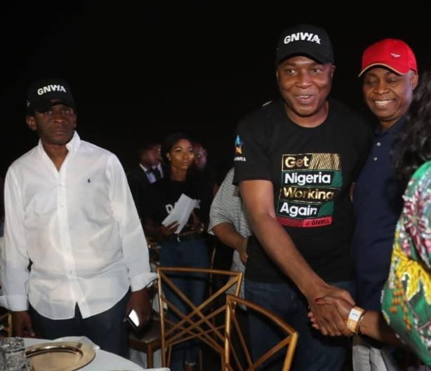 Senate President, Bukola Saraki attended Davido's concert in Lagos (Photos)