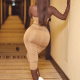 Actress Princess Shyngle showed her massive behind on Instagram.