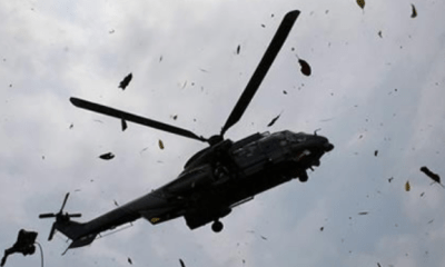 Five crew members die in military aircraft crash in Borno