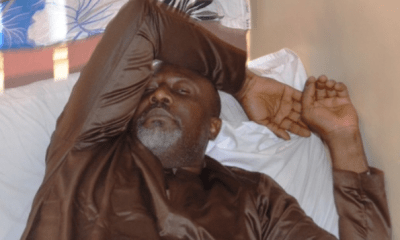 Senator Dino Melaye who surrendered to the Police authorities after an eight-day siege at his Abuja home last week Friday January 4th