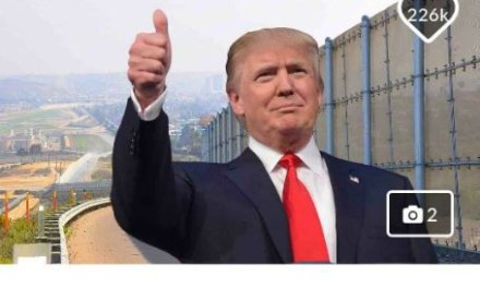 """GoFundMe to refund all donations made for the  """"Trump Wall"""" campaign after falling short of its $1billion goal"""